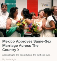 Photos from Mexico's legalization of same-sex marriage